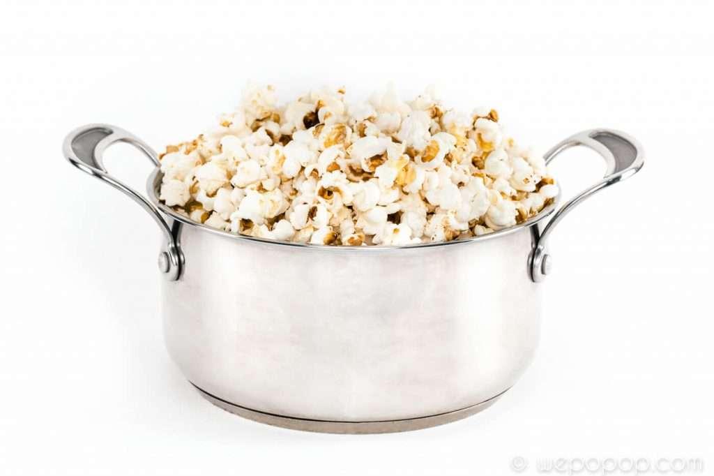 Med wepopops metod är det lätt att poppa popcorn