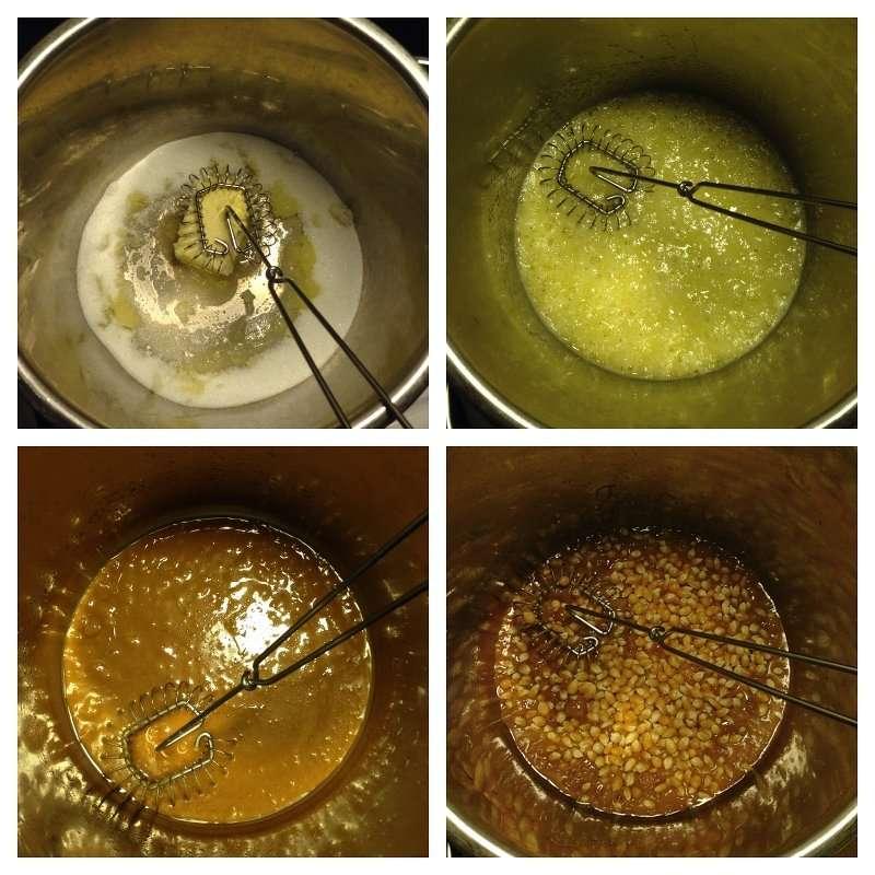 Hur man gör karamellpopcorn