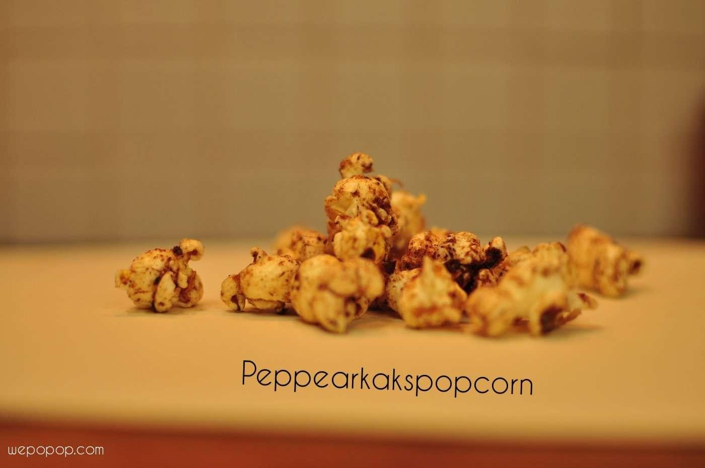 pepparkakspopcorn