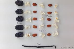 Vanilj- och mandelpopcorn