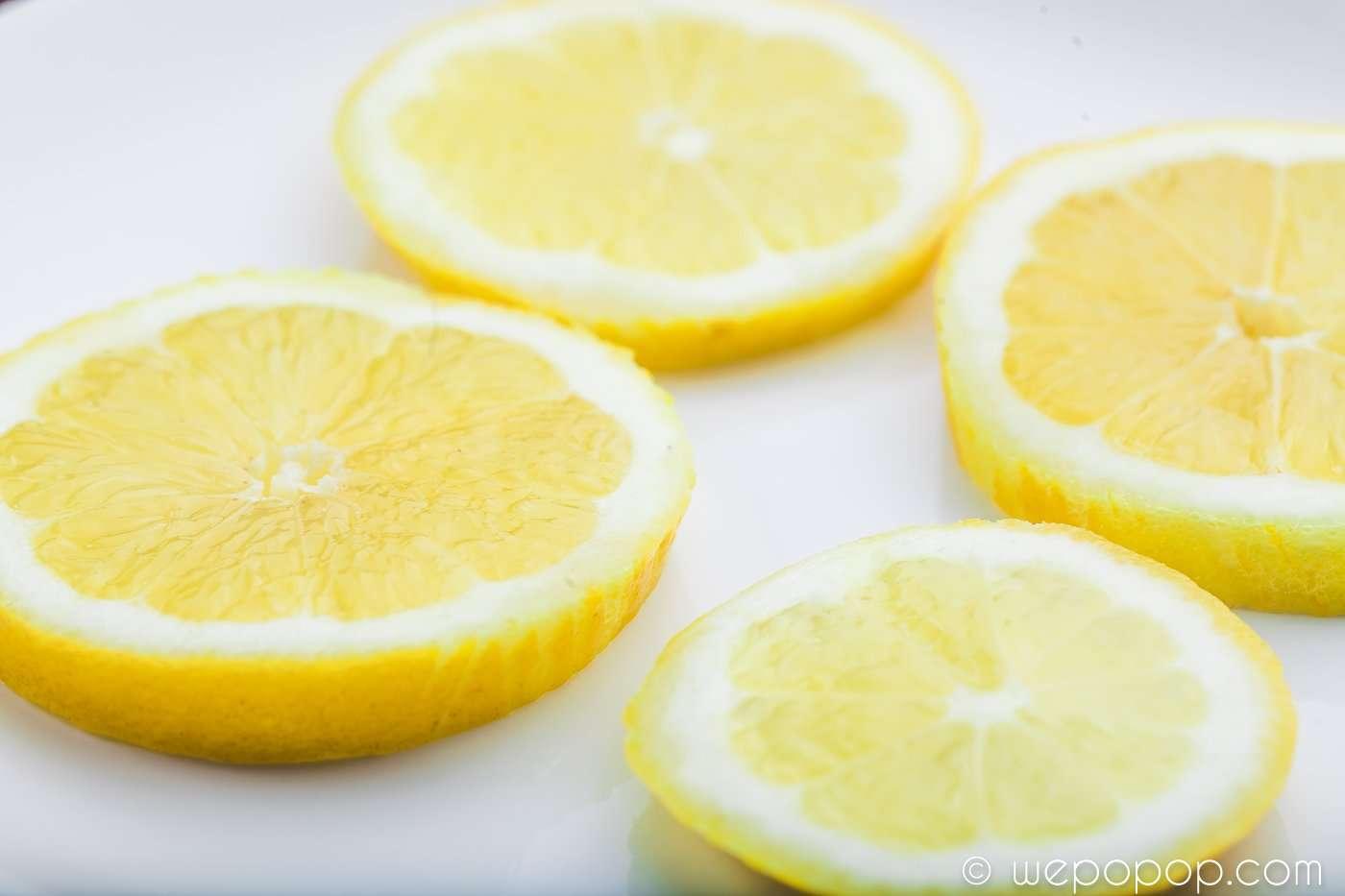 Citron- och ingefärspopcorn