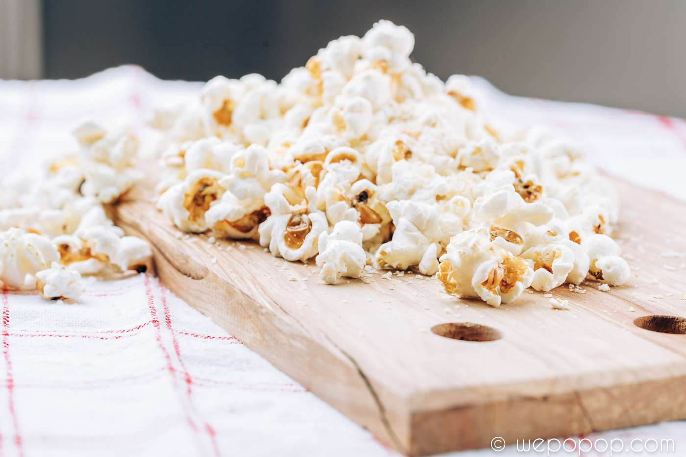 Fransk loksoppe popcorn