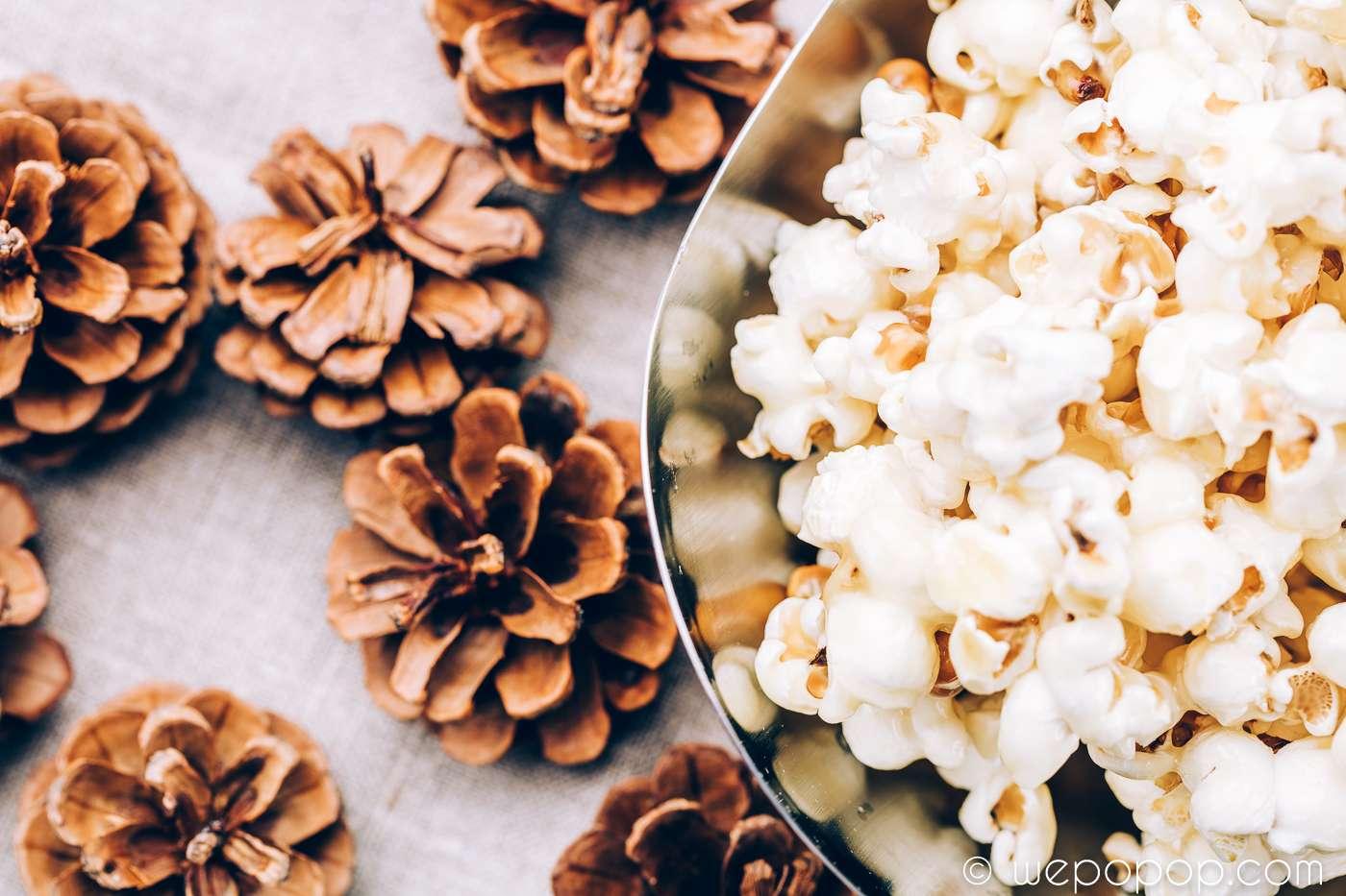 Popcorn med smörkola recept