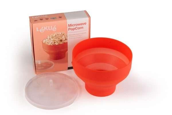 Micropopcornskål och låda